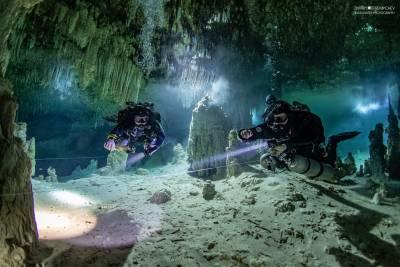 Full cave дайвер TDI