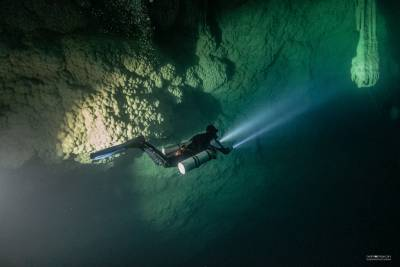 Cavern дайвер TDI