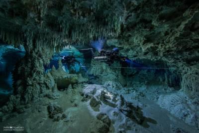 Intro to cave дайвер TDI